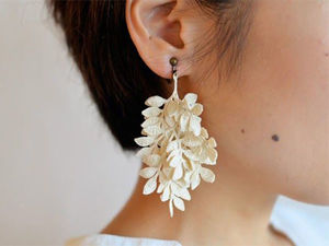 Hooked on Nature: Laconic Jewelry by Miho Fujita. Livemaster - handmade
