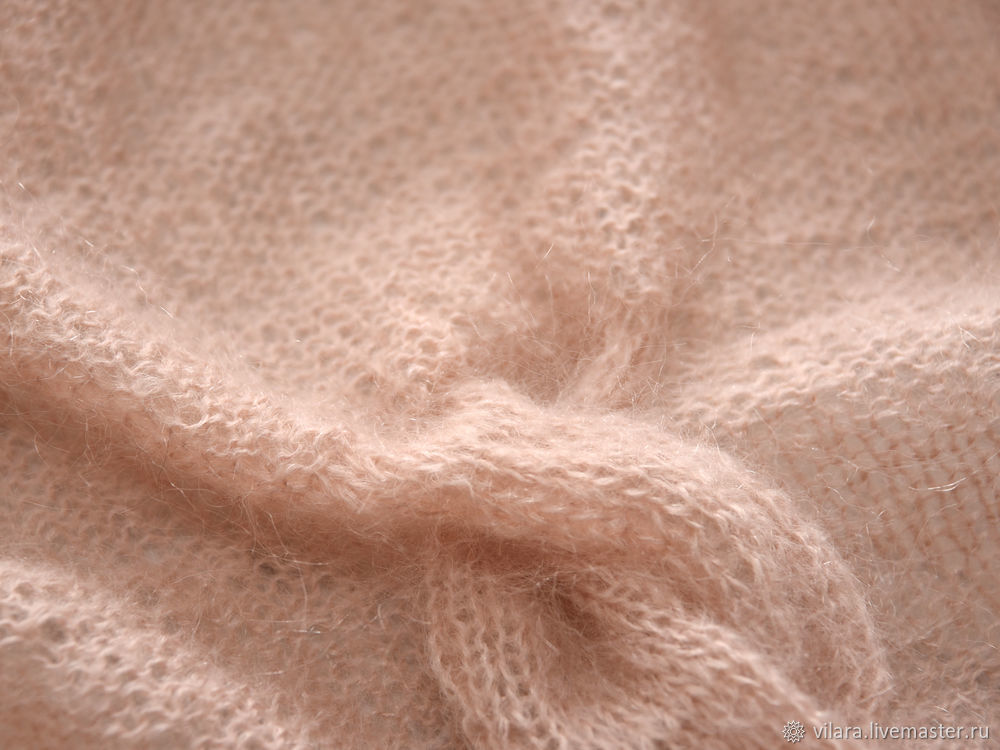 针织马海毛袖式披肩 - maomao - 我随心动