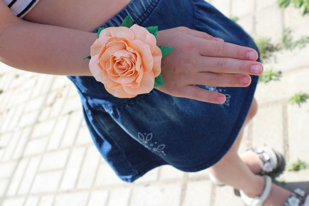 комплект для волос, розы в прическу