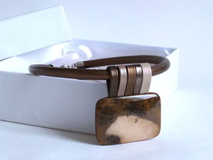Новое колье. Завтра. Коллекция TERRA.. Ярмарка Мастеров - ручная работа, handmade.