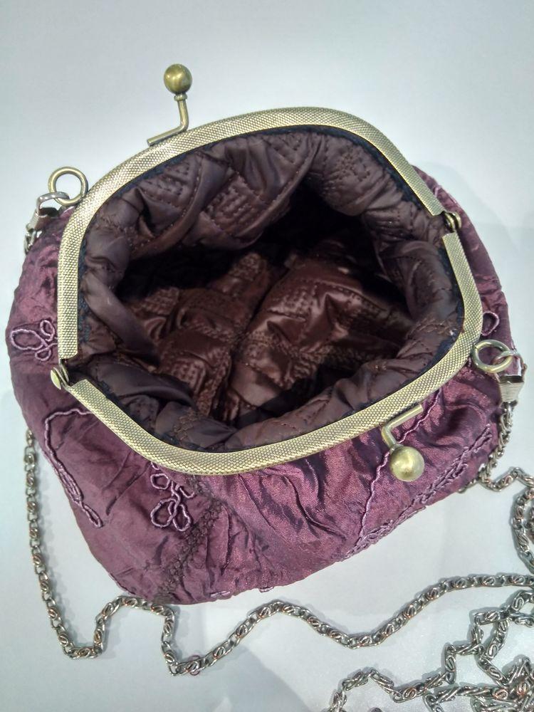 сумочка с фермуаром, подарок женщине, коллеге, что подарить