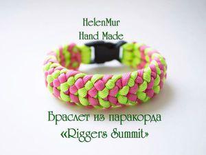 Плетем яркий браслет из паракорда: видеоурок. Ярмарка Мастеров - ручная работа, handmade.