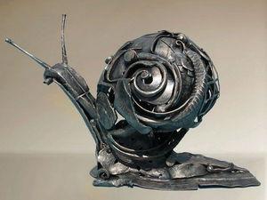 Своеобразное искусство: скульптуры из металлических отходов. Ярмарка Мастеров - ручная работа, handmade.