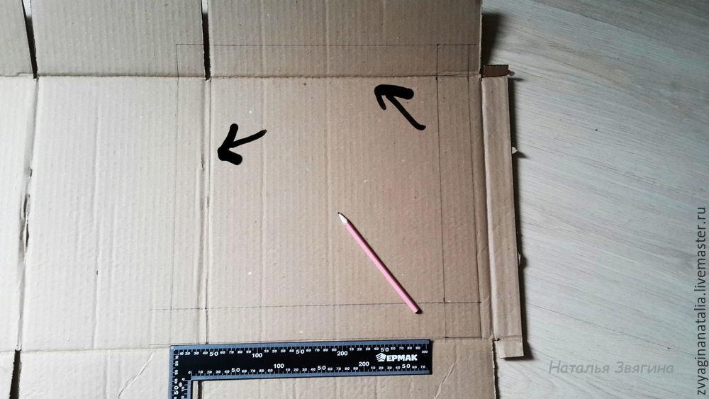 упаковка, делаем коробку