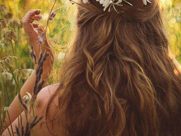 Натуральный уход - травяные рецепты для волос | Ярмарка Мастеров - ручная работа, handmade