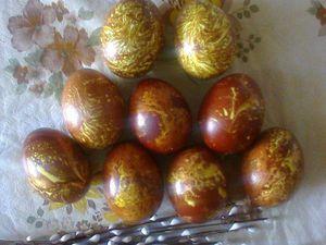 Красим яйца к Пасхе. | Ярмарка Мастеров - ручная работа, handmade