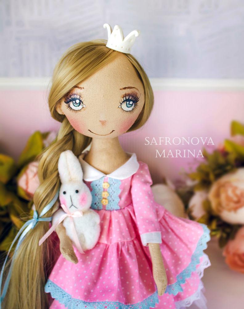 купить текстильная кукла, купить куклу интерьерную