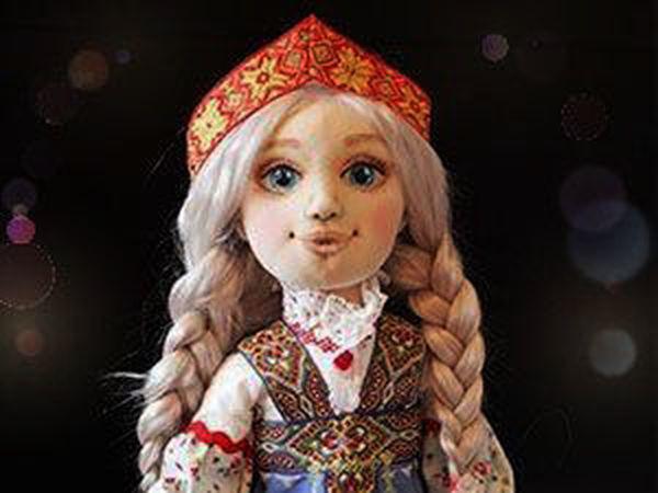 Шьем куколку Настеньку из «Сказа о Ясном Соколе»: подробный мастер-класс   Ярмарка Мастеров - ручная работа, handmade