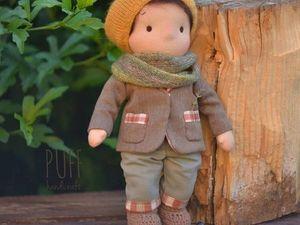 обзор одежды вальдорфской куклы мальчика. Ярмарка Мастеров - ручная работа, handmade.