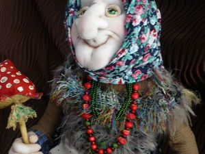 Новая баба яга   Ярмарка Мастеров - ручная работа, handmade