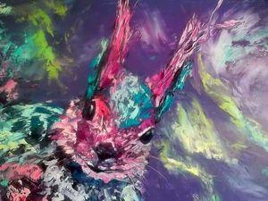 """Видео с картиной """"Там на краю земли-8"""" и процесс ее создания. Ярмарка Мастеров - ручная работа, handmade."""