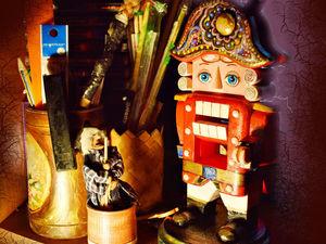 Тайная жизнь игрушек или мысли вслух деревянной куклы ЩЕЛКУНЧИК | Ярмарка Мастеров - ручная работа, handmade