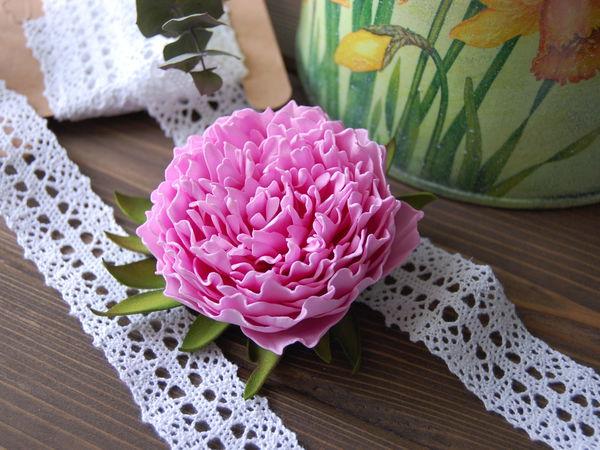 Новинка нашей студии! Цветы из фоамирана: Волшебный пион!   Ярмарка Мастеров - ручная работа, handmade