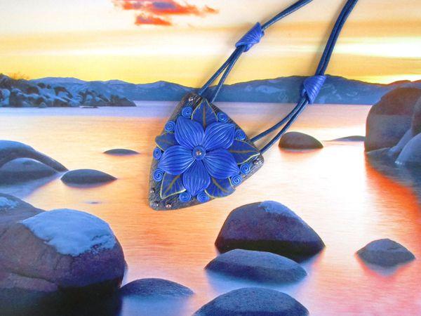 Синяя новинка к тематической неделе | Ярмарка Мастеров - ручная работа, handmade