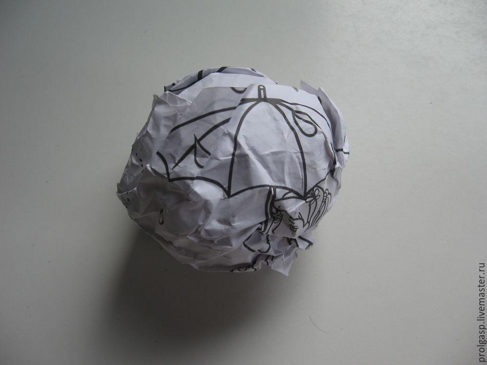 Делаем вместе с детьми ватные ёлочные шарики, фото № 1