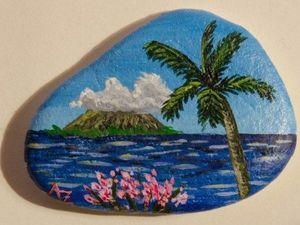 Простенькая галька, или Удивительные картины на камне. Ярмарка Мастеров - ручная работа, handmade.