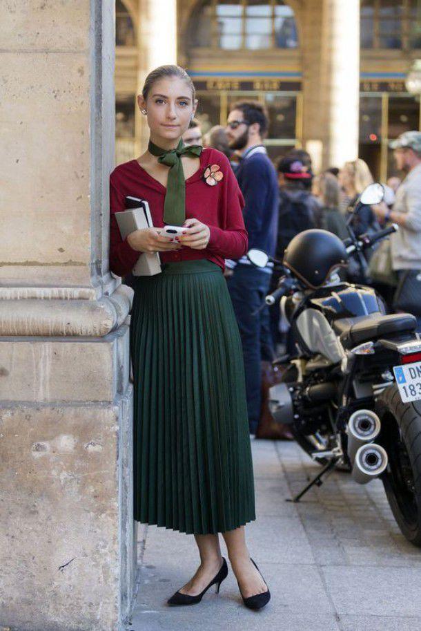 Длинный узкий шарфик: как и с чем носить этот стильный аксессуар, фото № 10