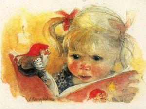 Жили-были гномы: подборка прекрасных иллюстраций и открыток. Ярмарка Мастеров - ручная работа, handmade.