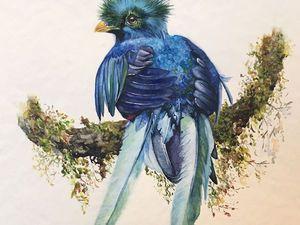 Синяя птица Счастья. | Ярмарка Мастеров - ручная работа, handmade