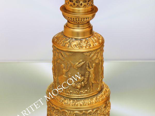 Раритетище Лампа керосиновая латунь Франция 5 | Ярмарка Мастеров - ручная работа, handmade