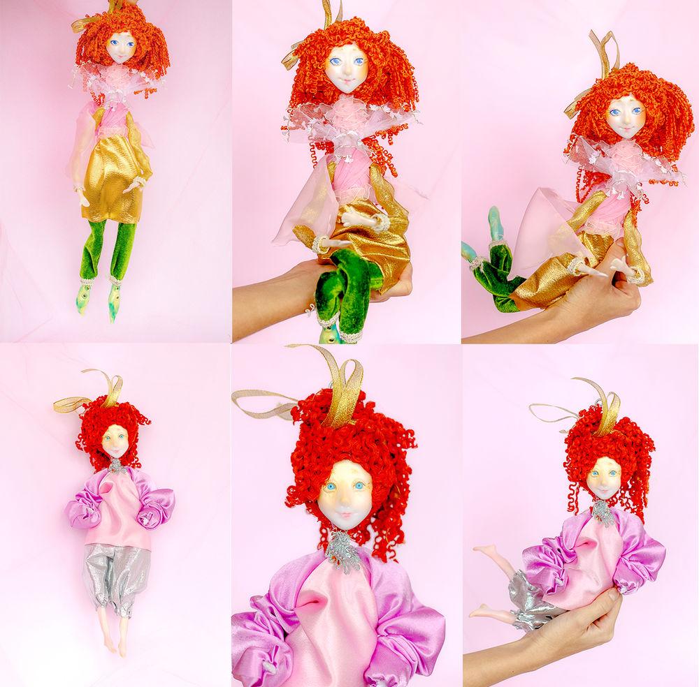 новая коллекция, кукла из полимерной глины