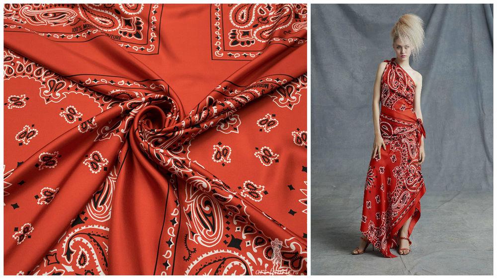 твил, шелк, вдохновение, брендовые ткани