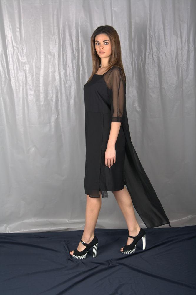 черное платье, chasto, скидки акции распродажи, лето