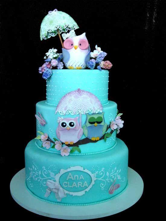 owl cake it is so cute!!