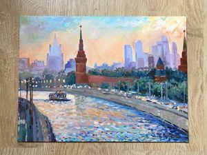 «Москва чемпионская» — новая картина в магазине!. Ярмарка Мастеров - ручная работа, handmade.