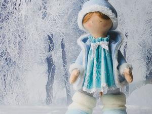 Снегурочка в конкурсе «Новогодний подарок 2018» !. Ярмарка Мастеров - ручная работа, handmade.