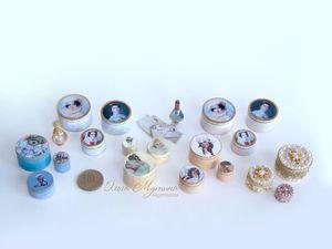 Шкатулочки и книжки-муляжи | Ярмарка Мастеров - ручная работа, handmade