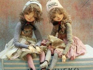 Маруся и Дуся. Ярмарка Мастеров - ручная работа, handmade.