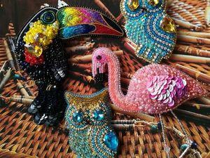 Распродажа коллекции летних птичек!!!. Ярмарка Мастеров - ручная работа, handmade.