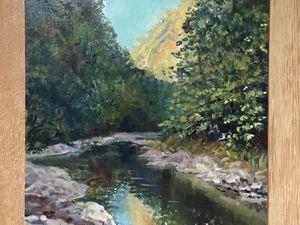 15% скидка на пейзаж маслом « Каньон реки. Черногория». Ярмарка Мастеров - ручная работа, handmade.