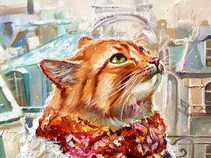 Готовим тираж открыток с котиками и ангелами:). Ярмарка Мастеров - ручная работа, handmade.