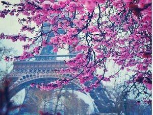 Весна. Любовь. Париж. Скрапбукинг.. Ярмарка Мастеров - ручная работа, handmade.