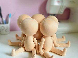 АКЦИЯ на заготовки кукол! Только с 20 апреля по 25 апреля!. Ярмарка Мастеров - ручная работа, handmade.