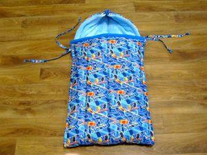 Шьём зимний конверт-трансформер для новорожденного. Ярмарка Мастеров - ручная работа, handmade.