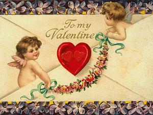 С днем Святого Валентина!. Ярмарка Мастеров - ручная работа, handmade.