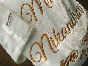 Вышивка на халате оригинальный и не обычный вариант!. Ярмарка Мастеров - ручная работа, handmade.