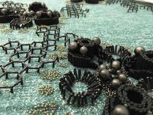 Восхитительные текстуры вышитых работ Kyoko Creation Broderie. Часть 2. Ярмарка Мастеров - ручная работа, handmade.