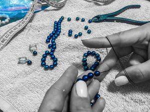 О важности изготовления украшений из жемчуга на нити через узелок. Ярмарка Мастеров - ручная работа, handmade.