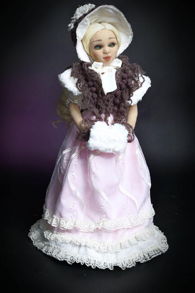 будуарная кукла, зеленый, кукла
