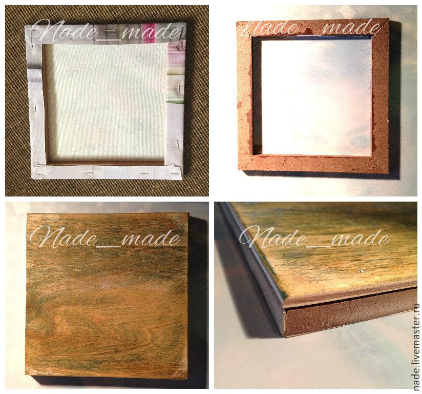 Рамка на картину из картона