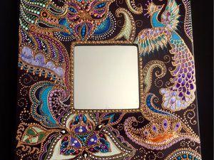 Мастер Класс Точечная роспись | Ярмарка Мастеров - ручная работа, handmade