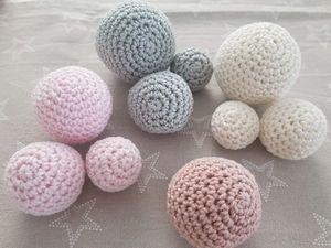 Видеоурок: вяжем шарик крючком. Ярмарка Мастеров - ручная работа, handmade.