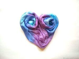 в магазине Батик от Натальи Сорокиной проходит распродажа шарфов и палантинов!. Ярмарка Мастеров - ручная работа, handmade.