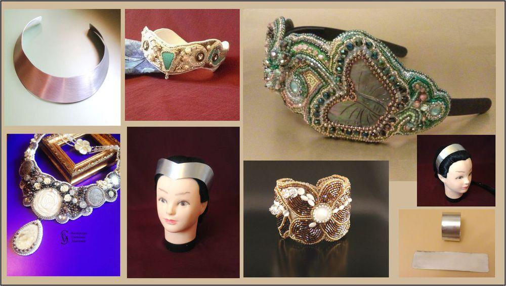 основы, основы алюминиевые, для украшений, основы для колье, основы для браслетов, основы для диадем, основы для корон, основы для ободков, обзор, обзор материалов, статья о материалах, о фурнитуре
