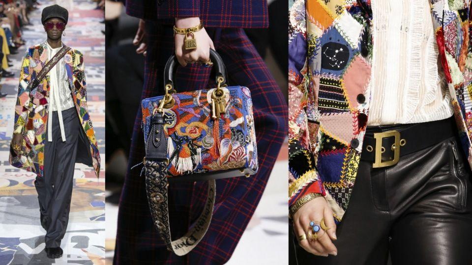 Christian Dior. Крейзи пэчворк