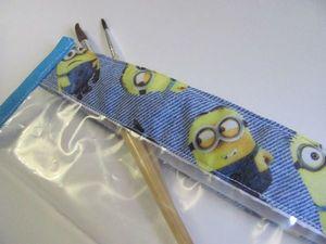 Шьем удобный пенал для хранения кистей для рисования. Ярмарка Мастеров - ручная работа, handmade.